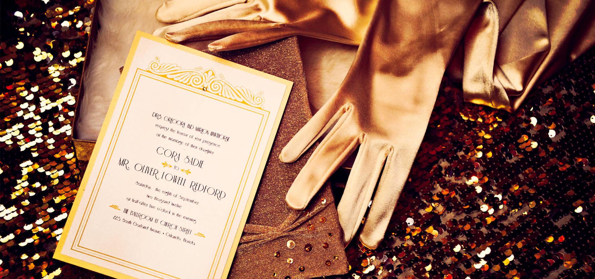 Шикарная свадьба в стиле «Великого Гэтсби»